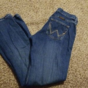 Wrangler cowgirl cut jeans size 7/8x34